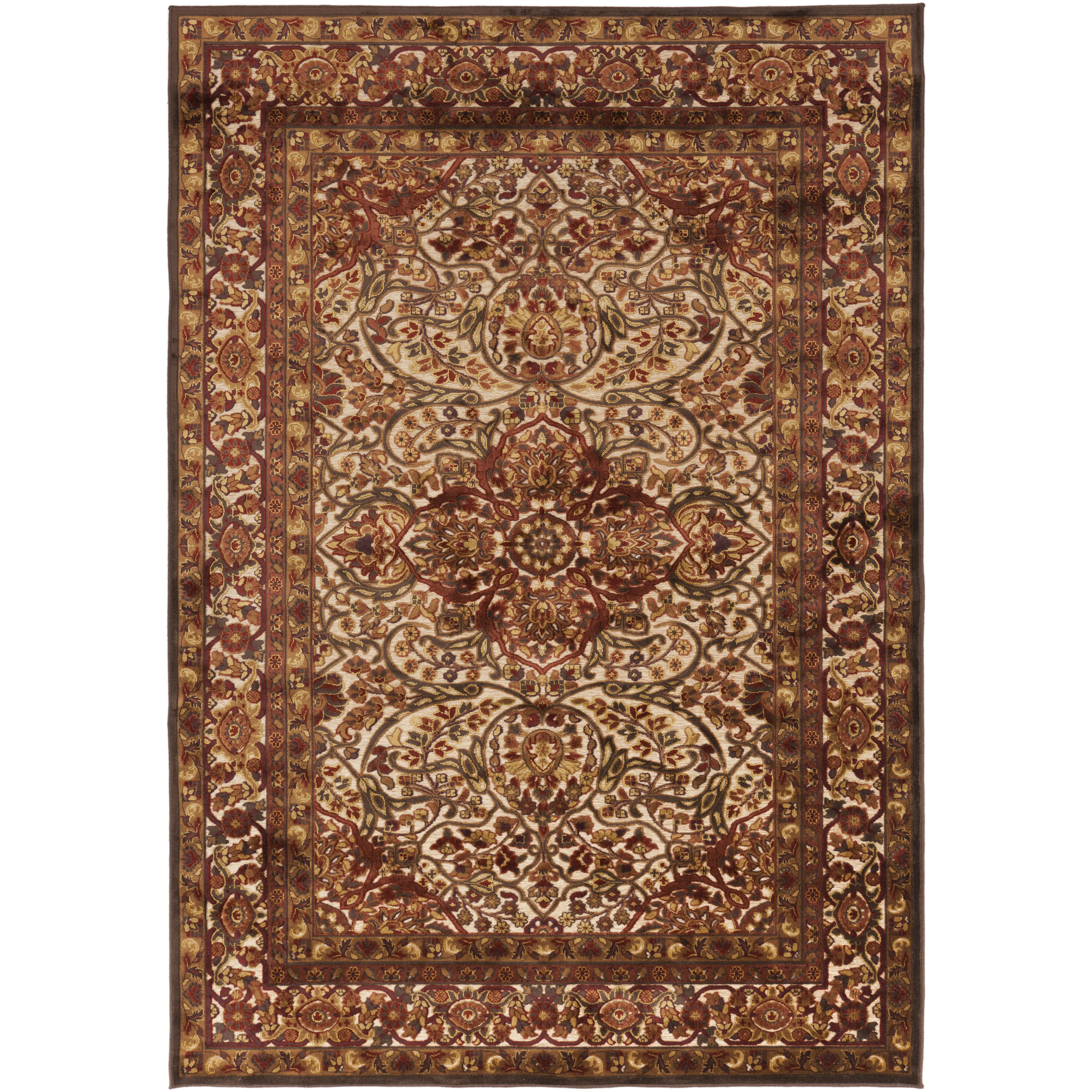 """Oriental Rugs Hagerstown Md: 5'2"""" X 7'6"""" By Surya"""