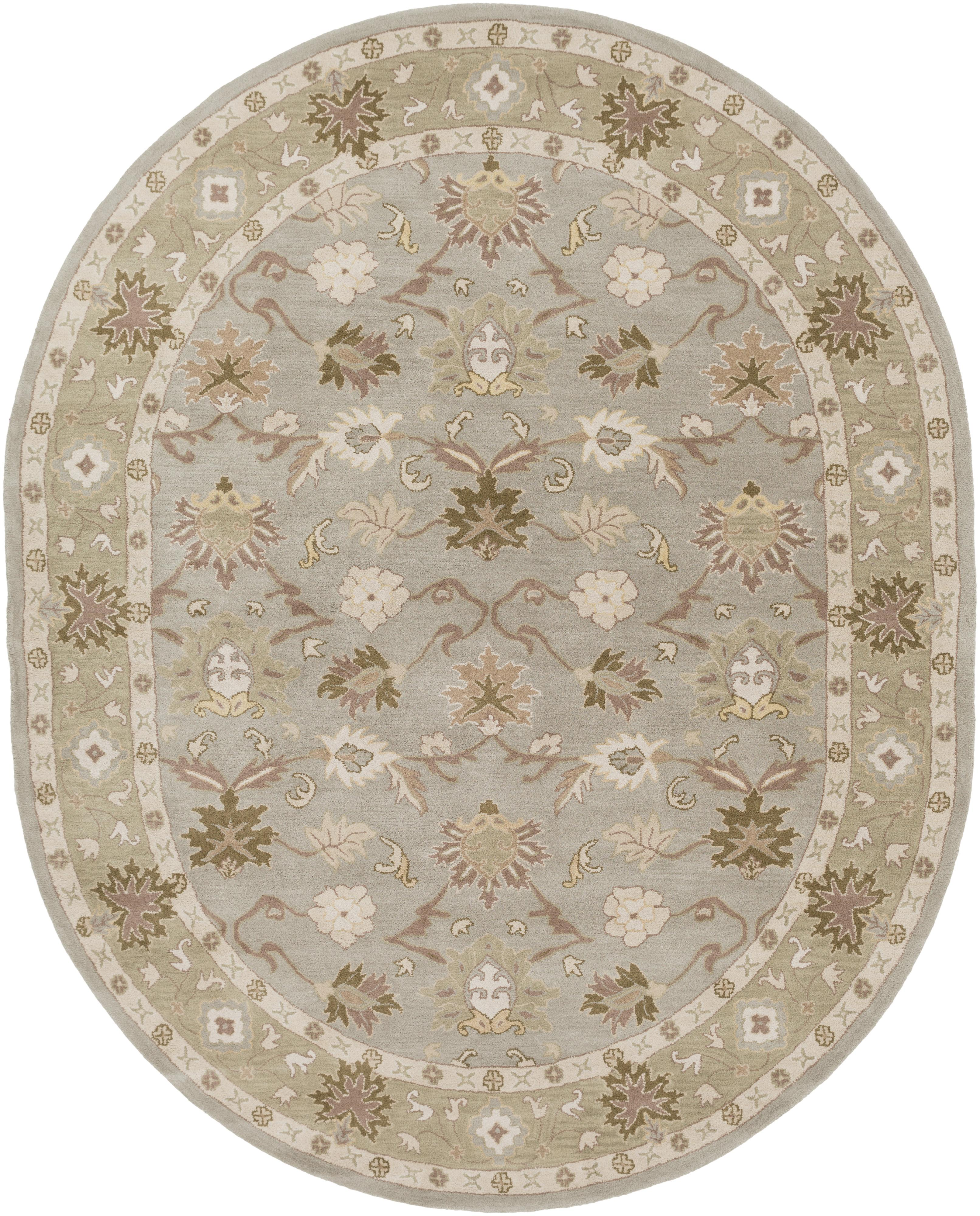 Oriental Rugs Hagerstown Md: 6' X 9' Oval By Surya