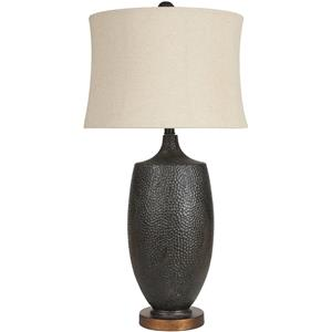 Surya Rugs Lamps Aged Black Table Lamp
