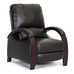 Synergy Home Furnishings 792 Reclining Push Thru Arm Chair