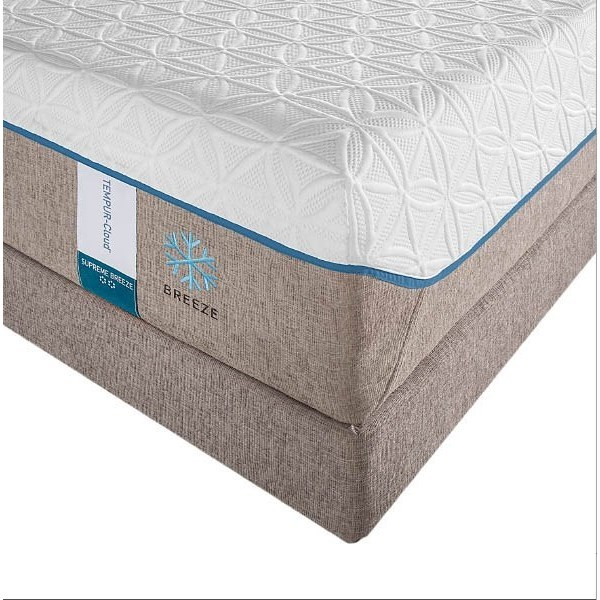 King Soft Mattress And Grey High Profile Foundation By