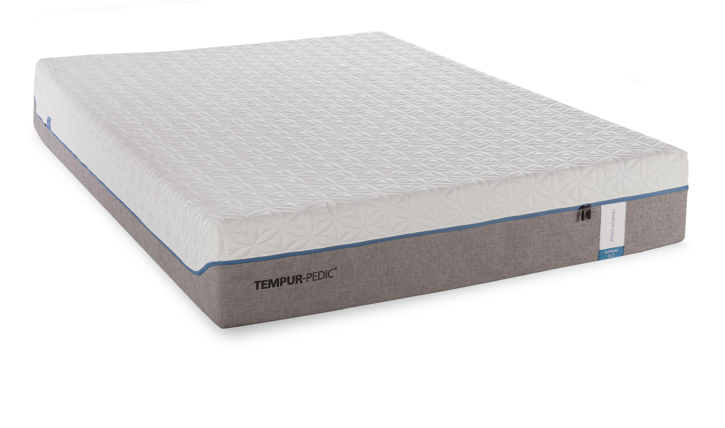 California King Soft Mattress And Tempur Ergo Premier Adjustable Foundation By Tempur Pedic