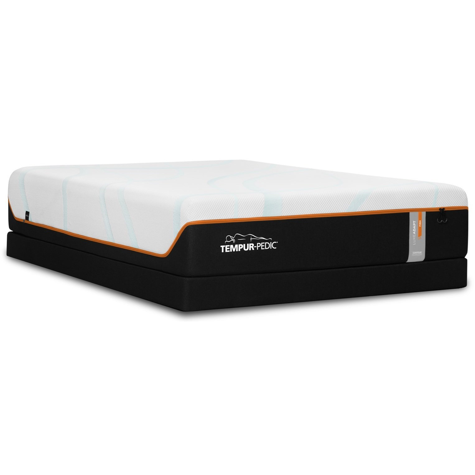 King 13 Quot Firm Luxury Mattress And Tempur Flat Low Profile