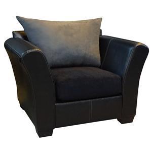 The 2000 Design Buckeye Black Chair