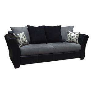 The 2000 Design Buckeye Black Sofa