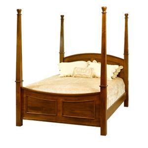 Casual Queen Poster Bed