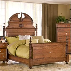 Queen Manor Bed