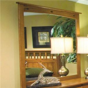 Mission Vertical Dresser Mirror