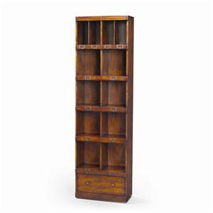 Theodore Alexander Bookcases Victorian Walnut Campaign Office Bookcase