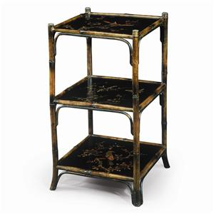 Theodore Alexander Bookcases Chinoiserie Hand Painted Etagere