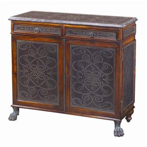 Theodore Alexander Cabinets and Sideboards Regency Walnut Side Cabinet