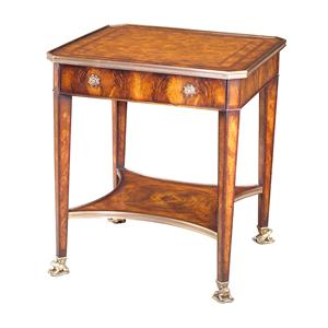 Theodore Alexander Tables 1 Drawer Square End Table