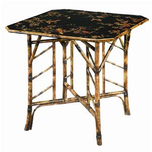 Theodore Alexander Tables Square Bamboo Center Table
