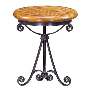 Theodore Alexander Tables Iron Base Round End Table