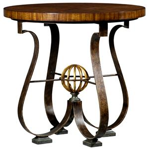 Theodore Alexander Tables Argentinean Walnut Center Hall Table