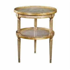 Theodore Alexander Tables 2 Tier Circular End Table