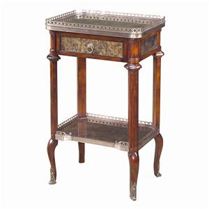 Theodore Alexander Tables Tall Rectangular End Table
