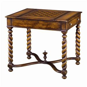 Theodore Alexander Tables William and Mary Game Table