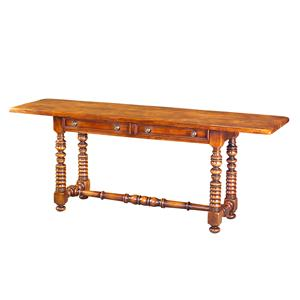 Theodore Alexander Tables Planked Top Sofa Table