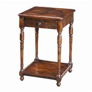 Theodore Alexander Tables Antique Wood End Table