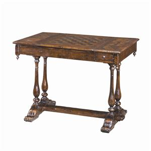 Theodore Alexander Tables Antiqued Wood Games Table