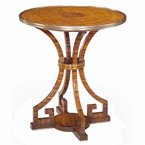 Theodore Alexander Tables Round Lamp End Table