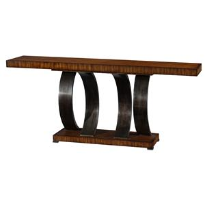 Theodore Alexander Vanucci Eclectics Walnut Console Table