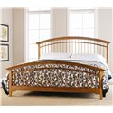 Thomasville® Bridges 2.0 California King Spindle Bed - Item Number: 40411-437+447