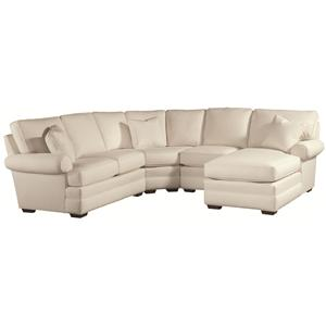 Thomasville® Chesapeake  Sectional with Right Facing Chaise