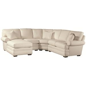 Thomasville® Chesapeake  Sectional with Left Facing Chaise