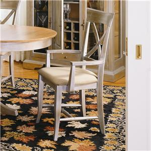 Thomasville® Color Café-Custom Dining <B>Customizable</B> Arm Chair