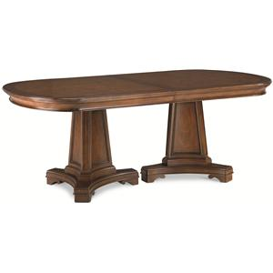 Thomasville® Deschanel Double Pedestal Table