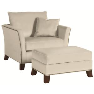 Thomasville® Easton  Chair and Ottoman Set