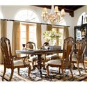 Thomasville® Ernest Hemingway  Granada Arm Chair - Granada Arm Chair Shown with Castillian Double Pedestal Table and Side Chair