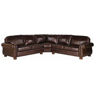 Thomasville® Leather Choices - Benjamin Leather Select Sectional
