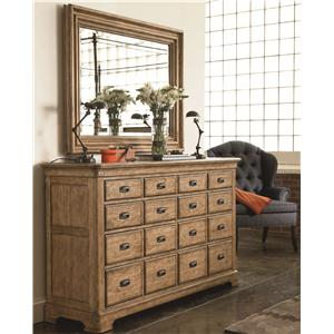 Thomasville® Reinventions Marquette Apothecary Dresser and Mirror