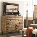 Thomasville® Reinventions Foreman's Media Chest - Shown with Hutch in Room Setting