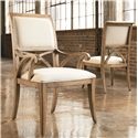 Thomasville® Reinventions Pacific Upholstered Arm Chair - Shown with Side Chair