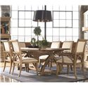 Thomasville® Reinventions Pacific Upholstered Arm Chair - Shown with Side Chair and Table