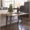 Thomasville® Reinventions Boulton and Watt Flip Top Console Table - Shown in Room Setting with Open Top