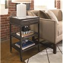 Thomasville® Reinventions Shop Floor Side Table w/ Drawer - Shown in Room Setting