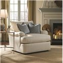 Thomasville® Stiletto End Table w/ Glass Top - Shown in Room Setting