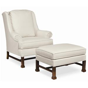 Thomasville® Upholstered Chairs and Ottomans Jamison Chair & Ottoman