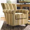 Thomasville® Upholstered Chairs and Ottomans Contemporary Upholstered Sable Chair