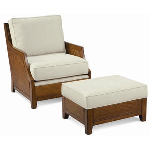 Thomasville® Upholstered Accents Tortola Chair and Ottoman