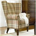 Thomasville® Upholstered Accents Maynard Casual Wing Back Chair - Shown in Room Setting