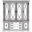 Thomasville® Brompton Hall China Cabinet