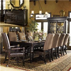 Tommy Bahama Home Kingstown 8Pc Dining Room