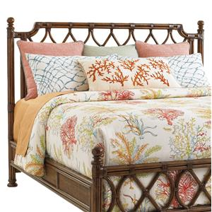 Tommy Bahama Home Bali Hai King Island Breeze Rattan Headboard