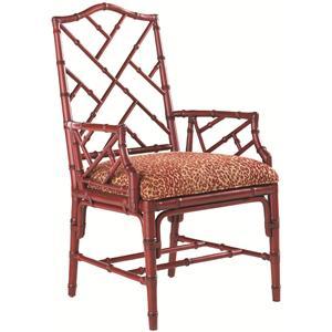 Tommy Bahama Home Island Estate <b>Customizable</b> Ceylon Arm Chair